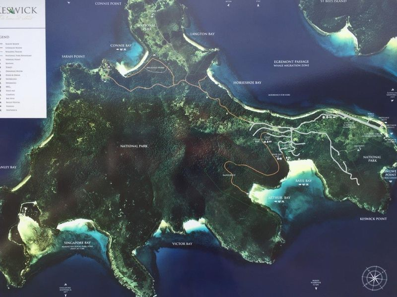 Where Exactly Is Keswick Island?